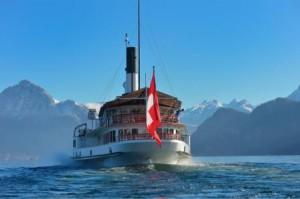 Dampfschifffahrt auf dem Vierwaldstättersee