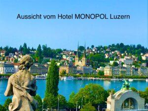 360° vue de l'Hôtel MONOPOL Lucerne