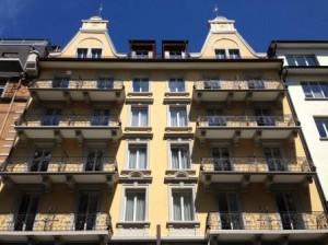 Hotel ALPINA Luzern direkt am Bahnhof (kein Taxi nötig)