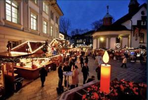 14. Luzerner Weihnachtsmarkt 2016 im Railcity Bahnhof