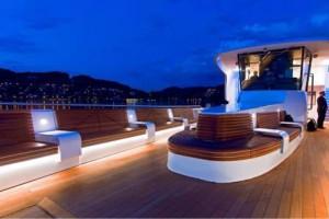 "Panorama-Yacht ""SAPHIR"" - stilvolles Ambiente"