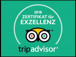 TripAdvisor®-Zertifikat für Exzellenz 2018: Hotel **** MONOPOL Luzern erneut ausgezeichnet!